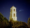 Comet Halle Bopp Post Office Tower Ojai Valley  Color of Ojai   , Light &amp; Spirit