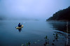Kayaking in Mist on Lake Casitas Ojai Valley  Color of Ojai   , Light &amp; Spirit